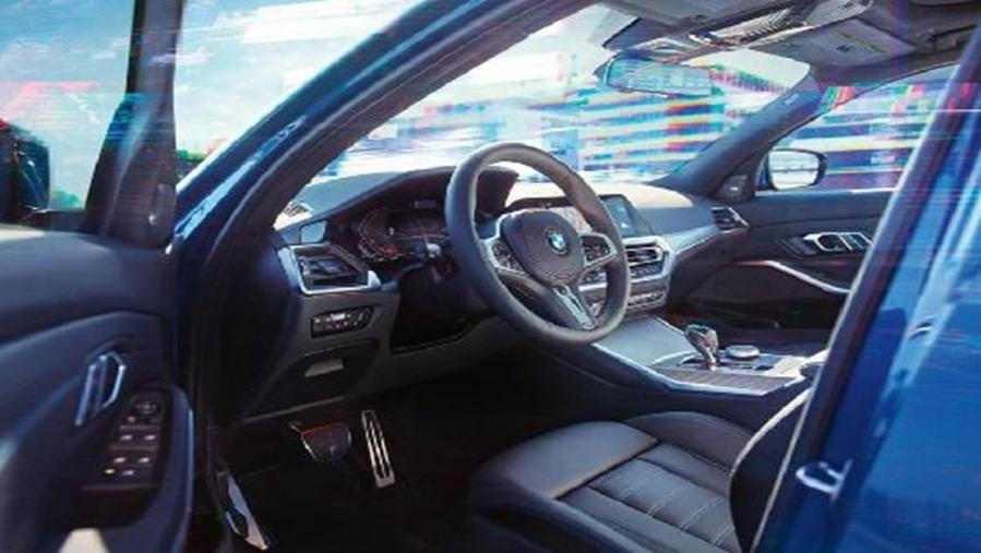 BMW 3 Series Sedan 2019 Interior 006