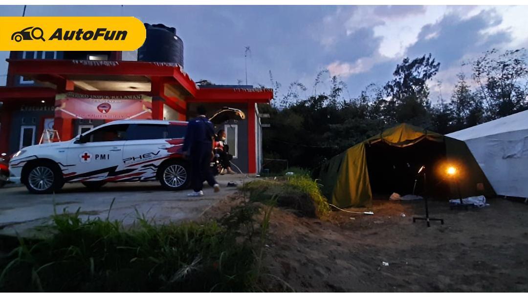 Berkat Fitur Mitsubishi Outlander PHEV Berhasil Menolong Korban Erupsi Gunung Merapi 01
