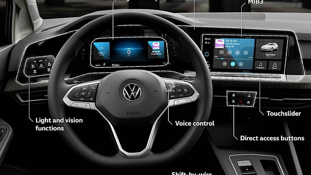 Volkswagen Golf 2019 Interior 068