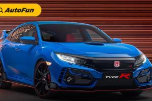 Honda Civic Type R 2022 Bakal Jadi Satu-Satunya Model Honda Bermesin Bensin