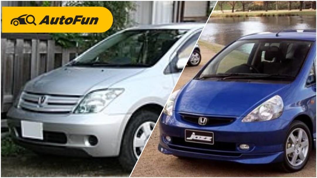 Berburu Hatchback Bekas CBU Jepang, Pilih Toyota Ist Atau Honda Jazz/Fit? 01