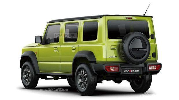Suzuki Jimny Long 2021