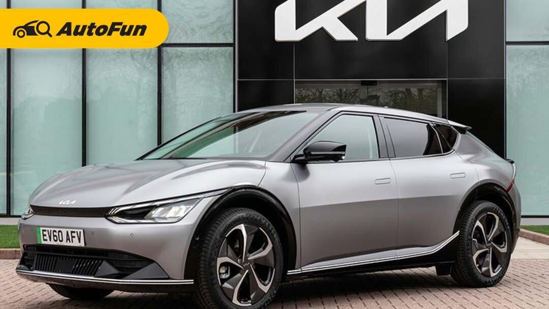 Mobil Listrik Kia EV6 Sudah Bisa Dibeli Tahun Depan dengan Harga Rp823 Jutaan! 01