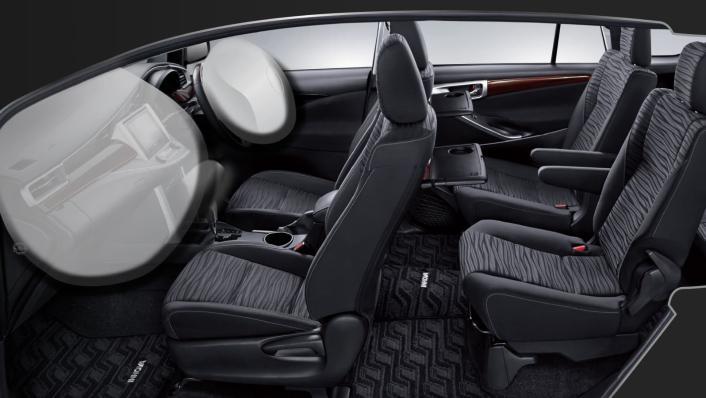 2020 Toyota Kijang Innova 2.0 V Luxury A/T Interior 009