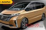 Bocoran: Nissan Serena Generasi Ke-6 Akan Debut Oktober 2021, Desainnya Mirip Elgrand