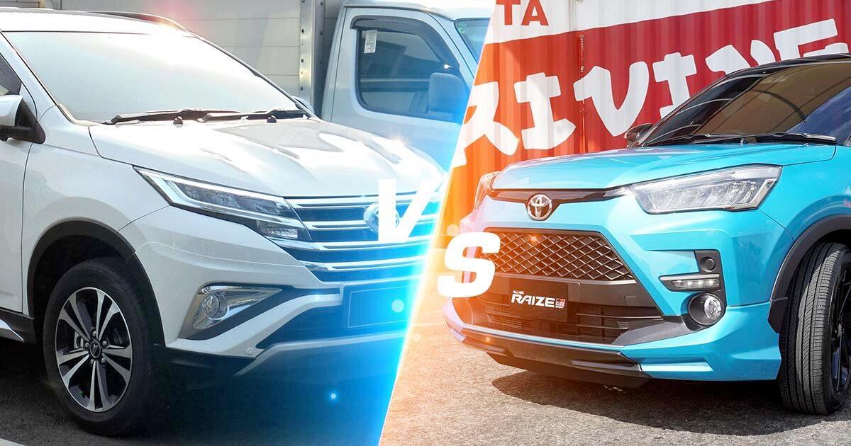 SUV Harga Rp250 Juta, Pilih Toyota Raize GR CVT Two Tone Atau Daihatsu Terios R AT Deluxe? 01