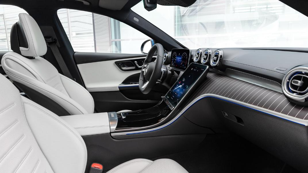 2021 Mercedes-Benz C-Class W206 Upcoming Version Interior 002