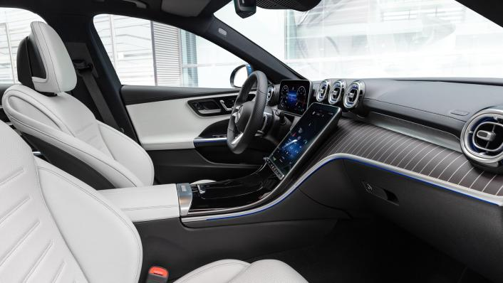 2021 Mercedes-Benz C-Class W206 Upcoming Version Interior 002