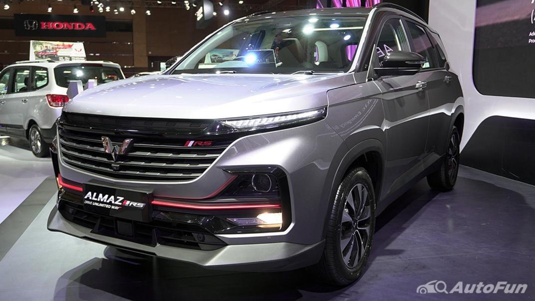2021 Wuling Almaz RS Exterior 014