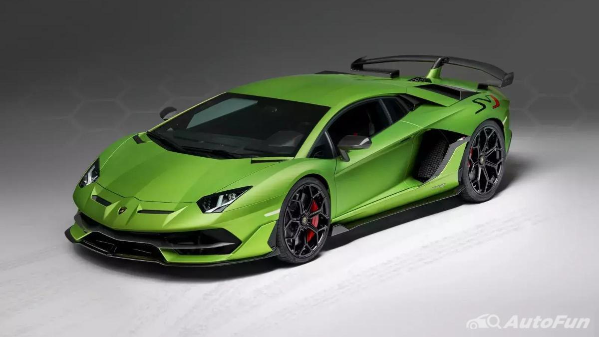 mobil baru Lamborghini Aventador SVJ