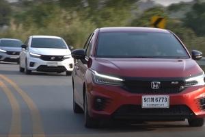 Mengintip All New Honda City 2020 Yang Sudah Hadir di Thailand