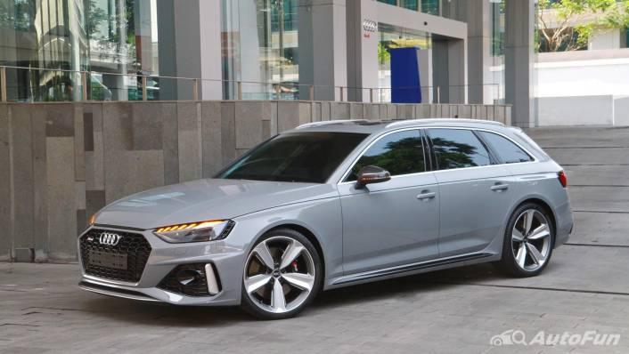 2021 Audi RS 4 Avant Exterior 009