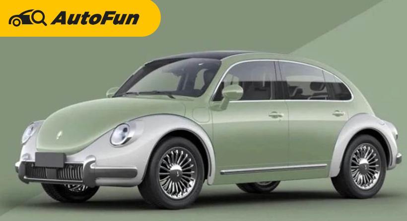 Mirip VW Beetle, Mobil Cina ORA Punk Cat Sudah Kantongi Hak Paten Buat Produksi, Kok Gak Digugat? 01
