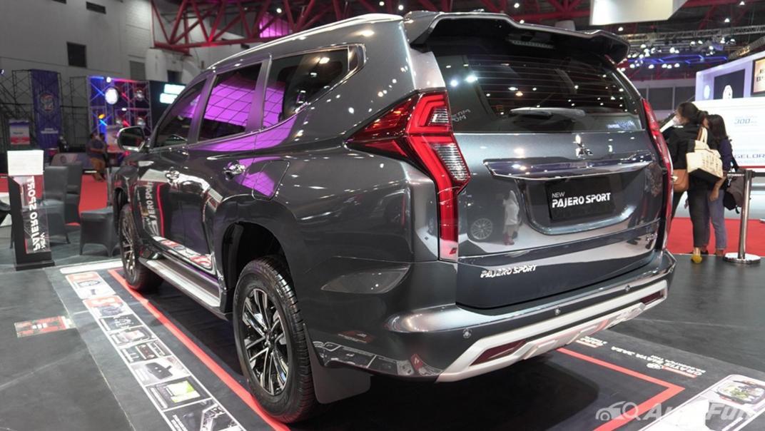 2021 Mitsubishi Pajero Sport Exterior 004