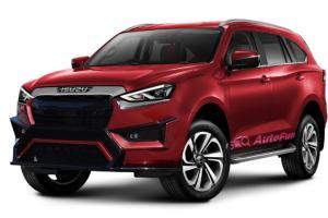 Aksesoris Balap Bikin Isuzu MU-X 2021 Terlihat Lebih Gagah dan Sporty, Apakah Toyota Fortuner Dapat Tersaingi?