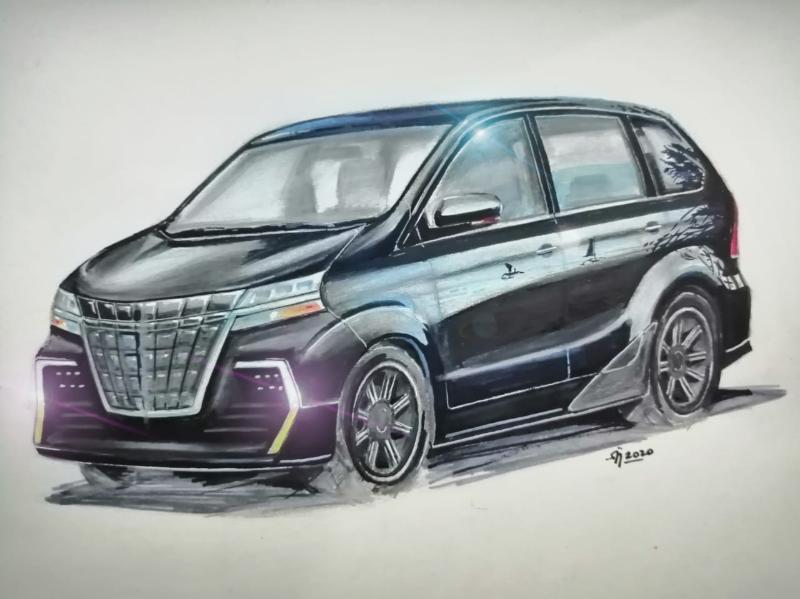 Sketsa Mobil Top Gear Keajaiban Membuat Sketsa Toyota Avanza Menjadi Toyota Alphard Versi Ramah Dikantong Autofun
