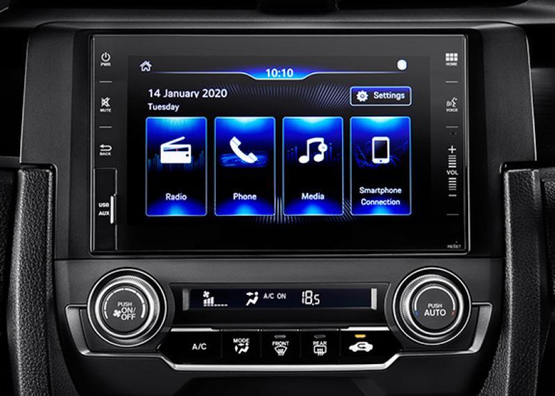 Kenali Lebih Dalam Fitur Infotainment Andalan Pada Honda Civic Hatchback 02