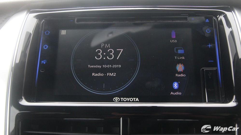 Toyota Vios 2019 Interior 044