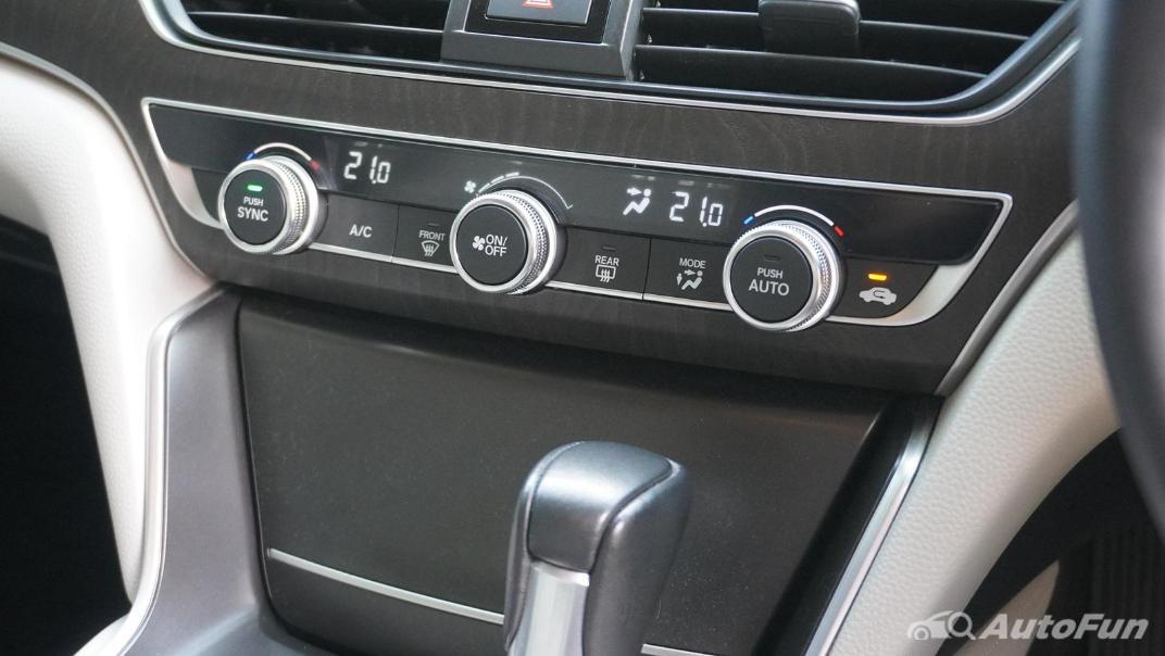 2021 Honda Accord 1.5L Interior 022