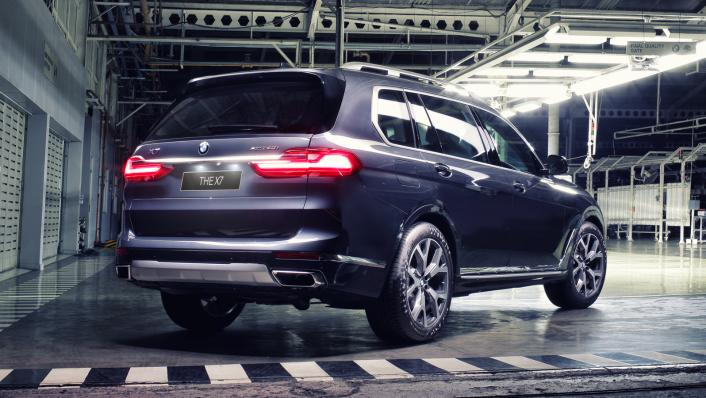2021 BMW X7 xDrive40i Opulence Exterior 002