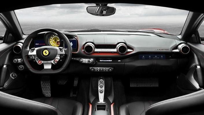 Ferrari 812 Superfast 2019 Interior 001
