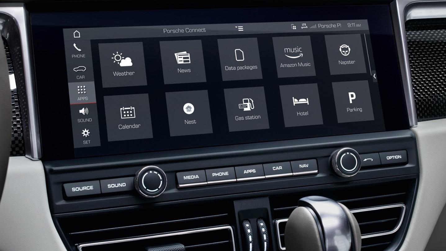 Porsche Macan 2019 Interior 007