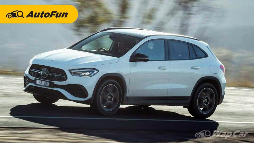 Mercedes-Benz GLA 2021 Panaskan Persaingan di Segmen Crossover 01