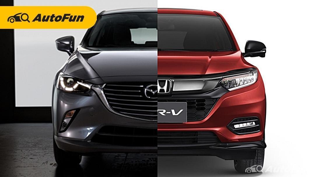 Perbandingan Mazda CX-3 SPORT 1.5 dengan Honda HR-V, Siap Bertarung Jadi Crossover Terlaris Indonesia 01