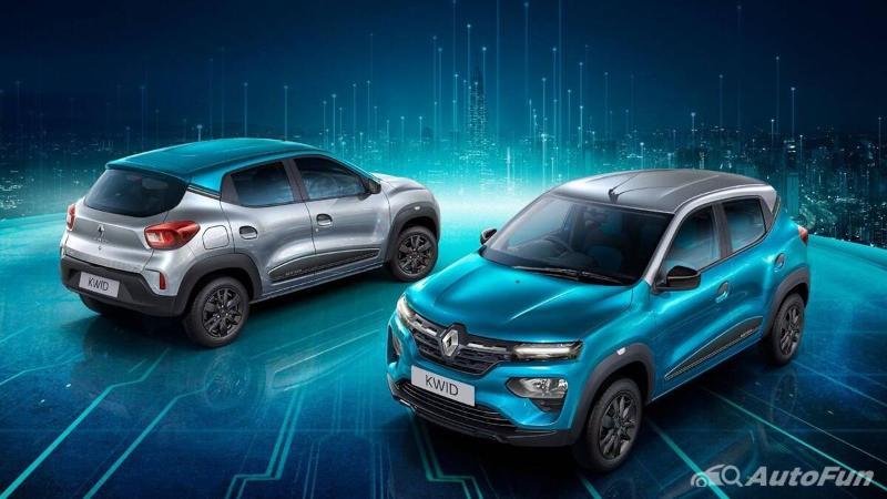 pilihan warna Renault Kwid Neotech 2021
