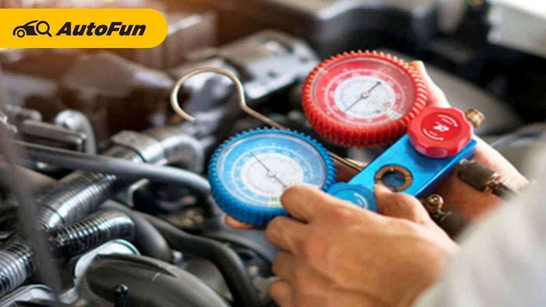 Nggak Perlu ke Tukang AC, Begini Cara Mudah Menambahkan Freon AC Mobil 01