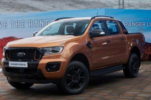 Rivalitas Sengit, Ford Ranger 2021 Siap Jatuhkan Toyota Hilux