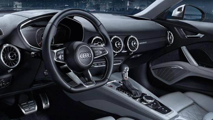 Audi TT Coupe 2019 Interior 002