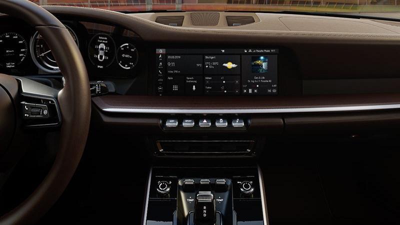 Porsche 911 2019 Interior 035