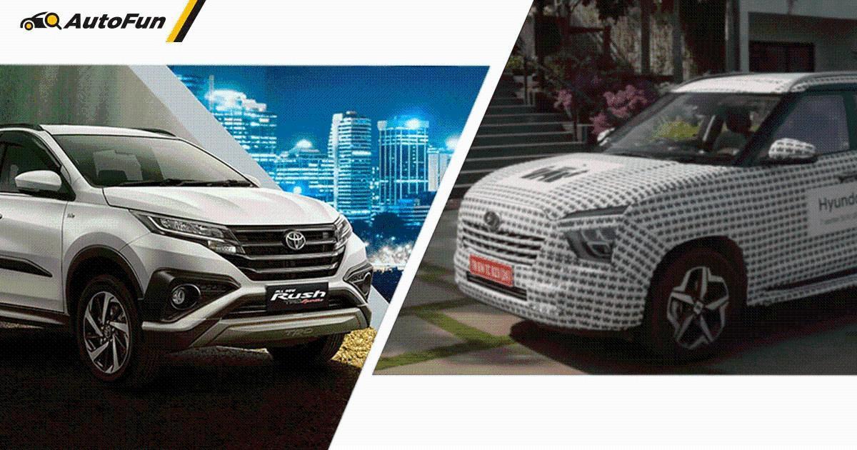 Adu Spesifikasi Hyundai Alcazar Vs Toyota Rush, SUV Korea Siap Jadi Kuda Hitam! 01