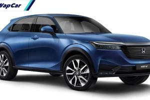 Disain Terus Berubah, Honda HR-V 2021 mampukah hentikan penjualan KIA Sonet 2021