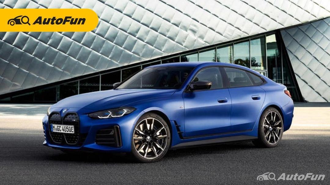 Lebih Jauh 167 Km Dalam urusan Jarak Tempuh, BMW i4 Siap Tantang Tesla Model 3 01