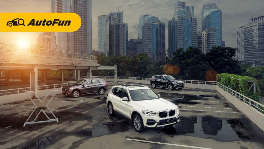 Luncurkan Tiga Model Sekaligus, Harga BMW Seri X 2021 Mulai Dari Rp 600 Jutaan 01