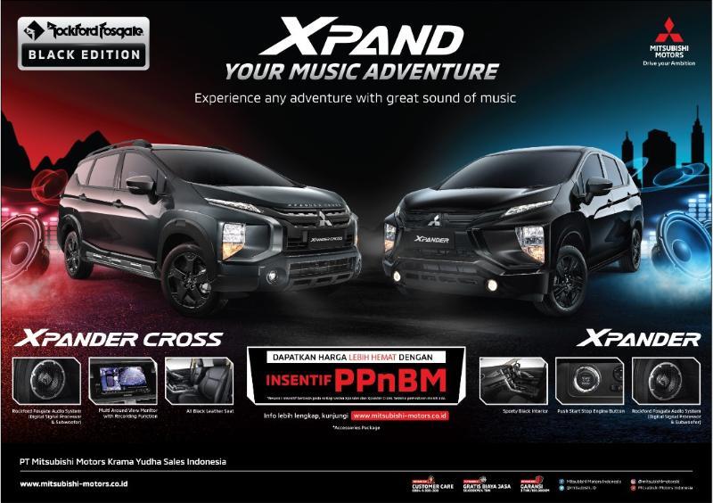 Pakai Sound System Rockford Fosgate, Harga Mitsubishi Xpander Cross Tembus Rp312 Jutaan 02