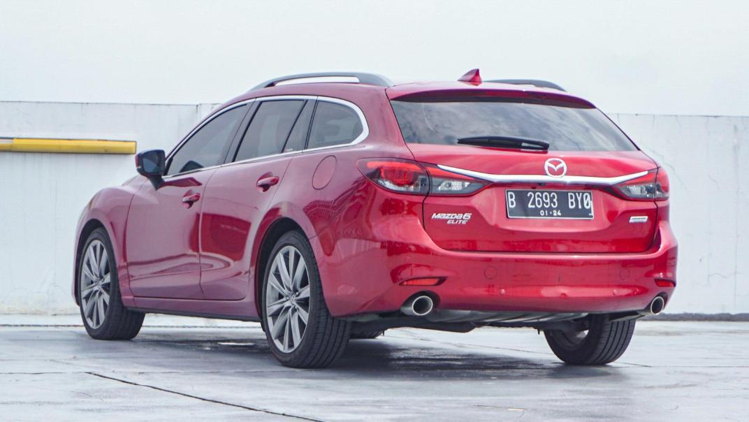 Mazda 6 Elite Estate Exterior 007