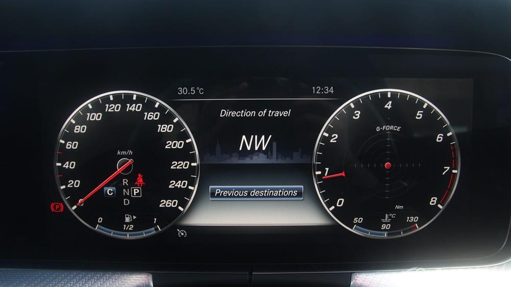 Mercedes-Benz E-Class 2019 Interior 135