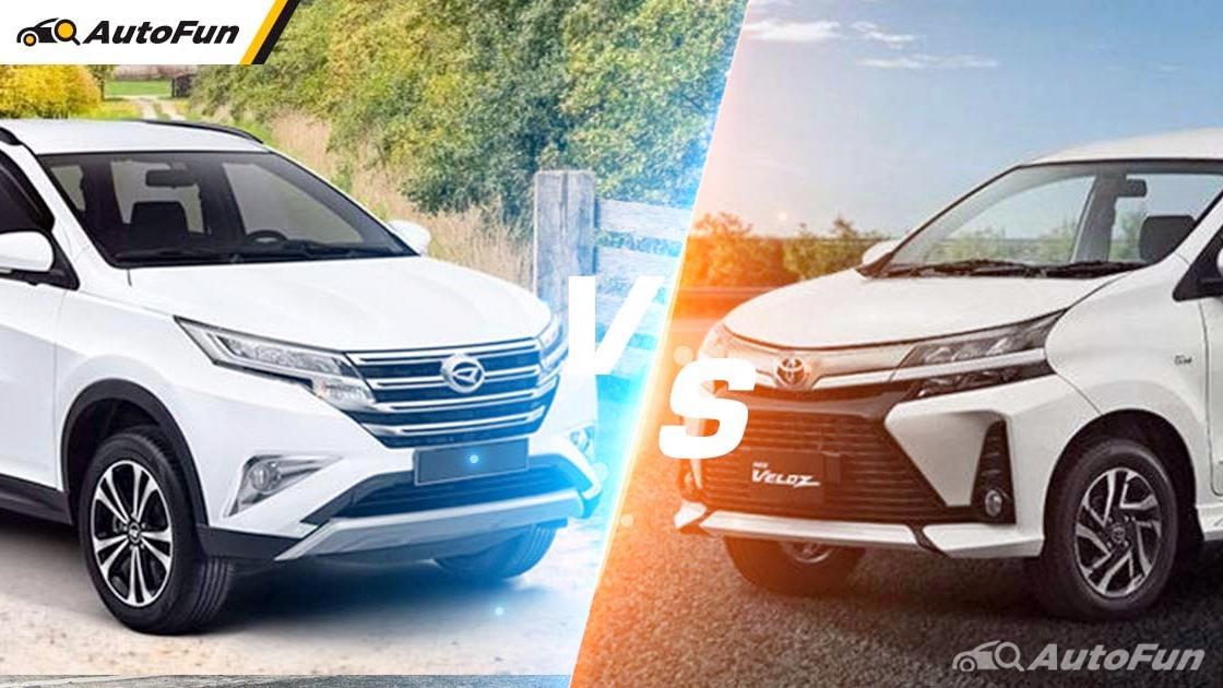 Banderol Harga Mirip, Pilih Kepraktisan ala Daihatsu Terios atau Kemewahan Toyota Veloz? 01