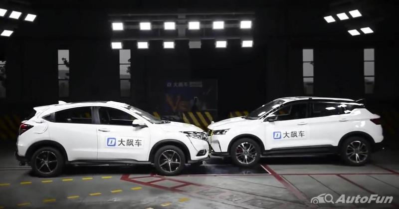 Honda HR-V vs Geely Binyue