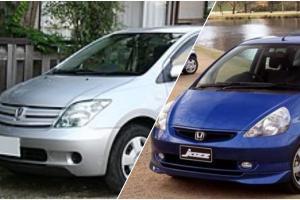 Berburu Hatchback Bekas CBU Jepang, Pilih Toyota Ist Atau Honda Jazz/Fit?