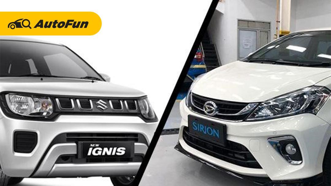 Suzuki Ignis atau Daihatsu All New Sirion, Pilihan yang Tepat untuk First Time Buyer? 01