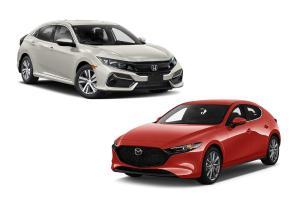 Duel Mesin Honda Civic Hatcback dan Mazda3, Mana yang Lebih Baik?