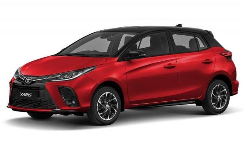 Toyota Yaris Facelift 2021 -1