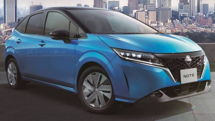 2021 Nissan Note Upcoming Version Exterior 004