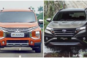 Pakai FWD, Mitsubishi Xpander Cross Jadi Lebih Lega Dari Toyota Rush yang RWD?