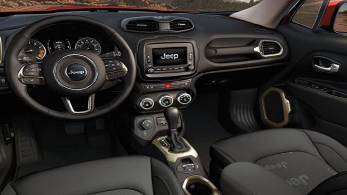 Jeep Renegade 2019 Interior 002