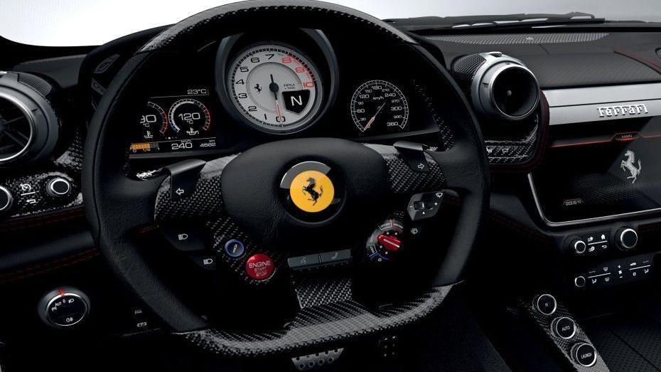 Ferrari GTC4Lusso T 2019 Interior 002